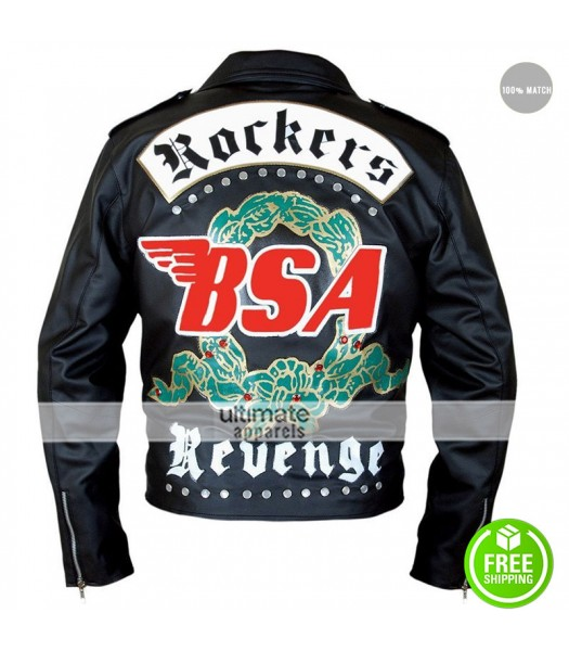 BSA George Michael Faith Rockers Revenge Black Jacket
