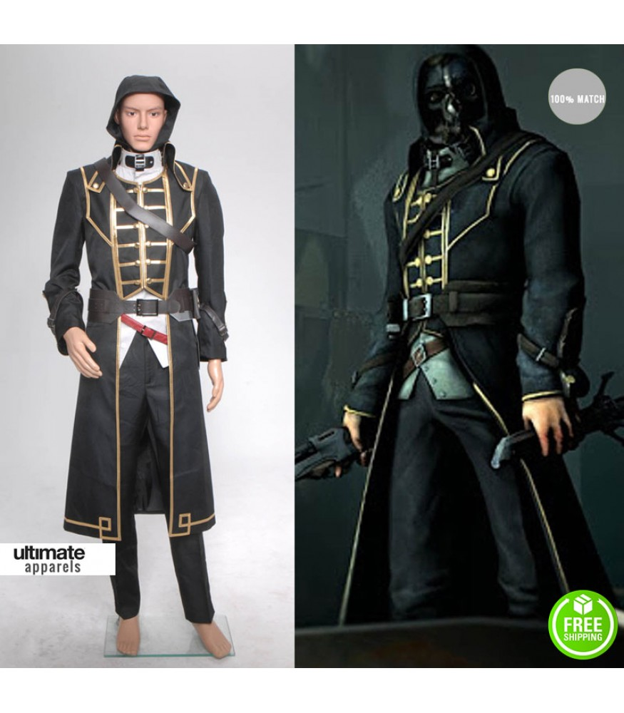 Dishonored Corvo Attano Costume Coat