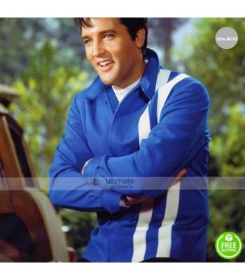 Elvis Presley Speedway Blue/Red Jacket