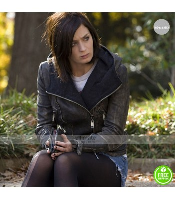 Emily Blunt Arthur Newman Mike Hooded Jacket