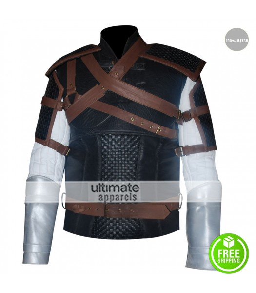 Geralt Witcher 3 Wild Hunt Warrior Costume Jacket