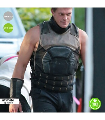Edge Flash Season 2 Atom Smasher Vest Coat