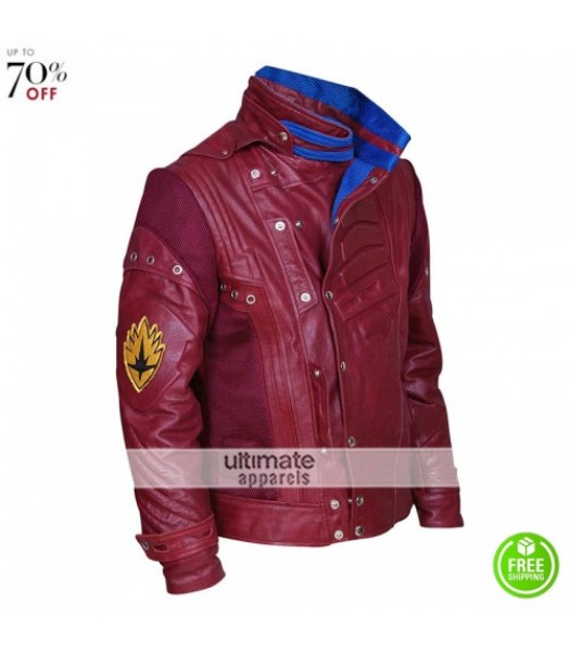 Guardians Of Galaxy Peter Quill (Starlord) 2017 Jacket
