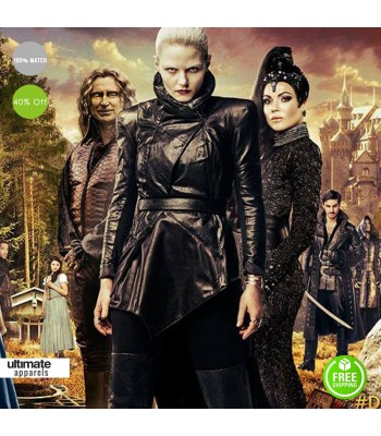 Once Upon A Time S5 Dark Swan Costume Jacket