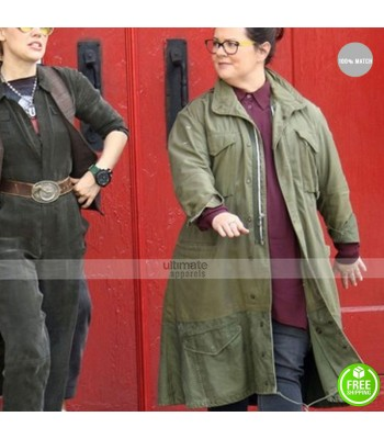 Ghostbusters Abby Yates (Melissa McCarthy) Green Jacket