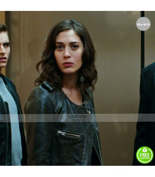 Now You See Me 2 Lizzy Caplan (Lula) Black Jacket