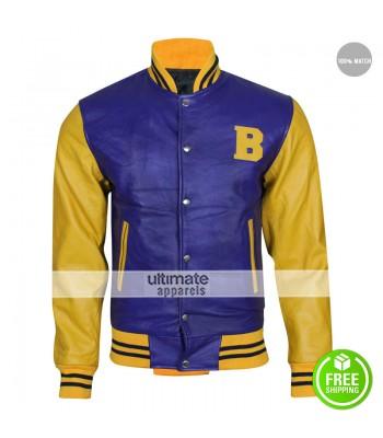 Teen Wolf Michael J Fox Bomber Costume Jacket