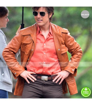 American Made Mena Tom Cruise Barry Seal Jacket