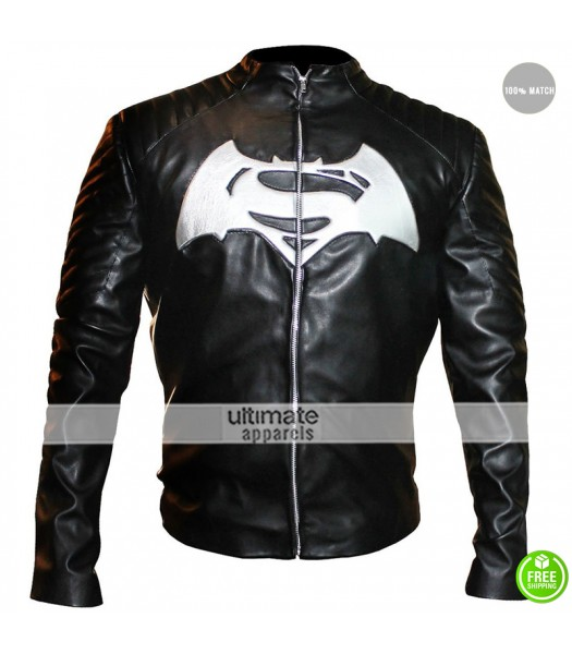 Batman Vs Superman Black/White Tribute Jacket