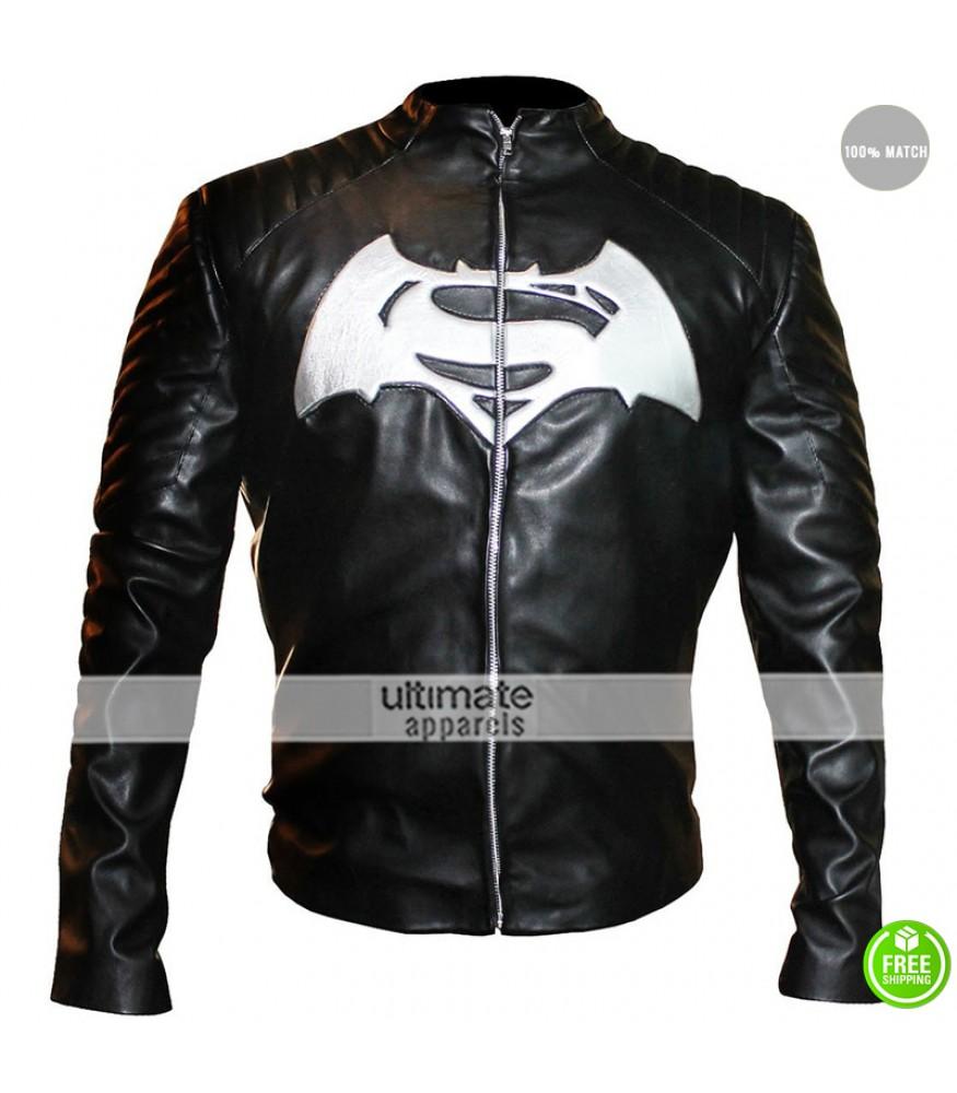 Batman Vs Superman Black/White Tribute Jacket