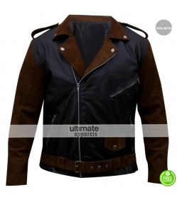 Billy Connolly Route 66 Bike Leather Jacket