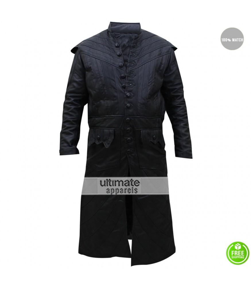 Black sails s3 pirate captain flint leather coat - Black Sails S3 Pirate Captain Flint Costume Coat 199 00