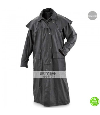 Darkman Liam Neeson Grey Trench Coat