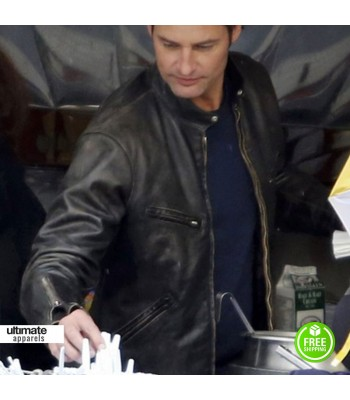 Intelligence Josh Holloway Gabriel Black Jacket