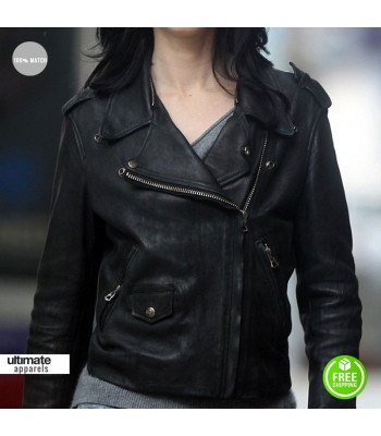Jessica Jones Krysten Ritter Black Biker Jacket