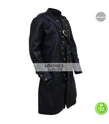 Will Turner Pirates Caribbean 5 Orlando Bloom Trench Coat