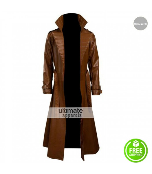 Gambit Channing Tatum Costume Brown Trench Coat