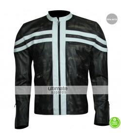 Fastlane Peter Facinelli (Donovan) Black Stripes Jacket