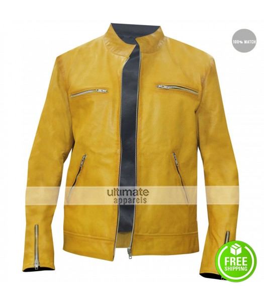 Dirk Gently Holistic Detective Agency Samuel Barnett Leather Jacket