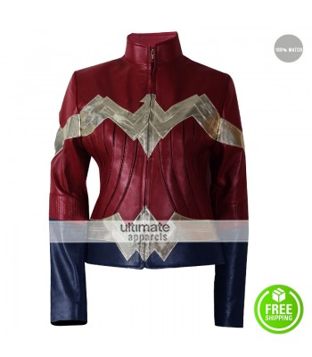 Gal Gadot Wonder Woman Movie Costume Jacket