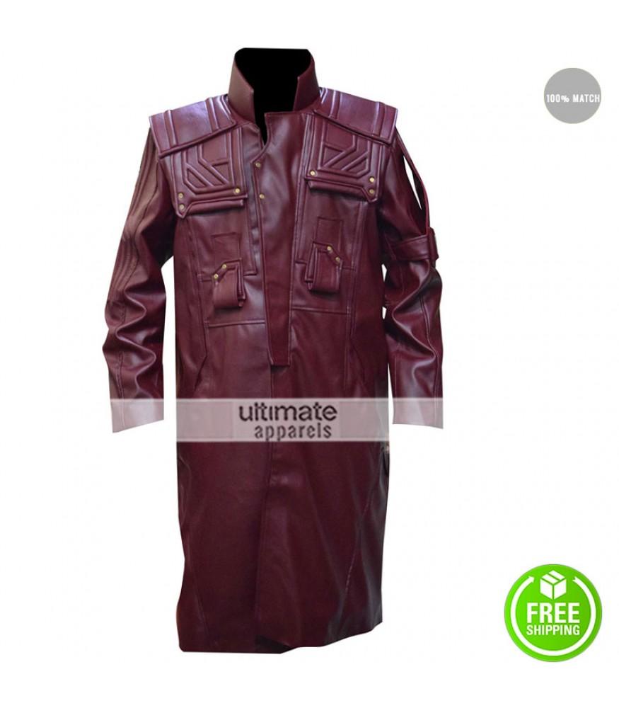 Guardians Of The Galaxy Vol 2 Star Lord Chris Pratt Coat