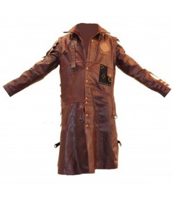 Guardians Of The Galaxy Vol 2 Michael Rooker Yondu Costume Leather Coat