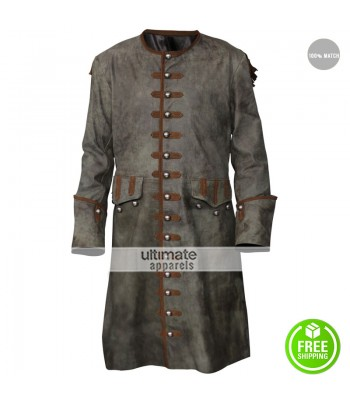 Pirates of the Caribbean 3 Jack Sparrow Costume Coat