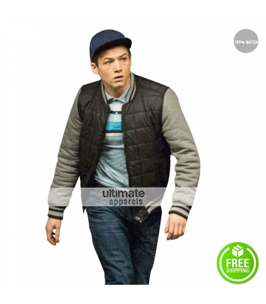 Gary Eggsy Unwin Kingsman The Golden Circle Bomber Jacket