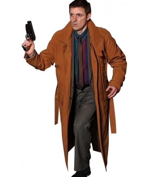Blade Runner Harrison Ford (Rick Deckard) Trench Coat