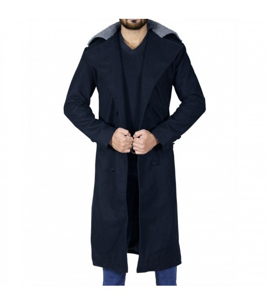Taboo Tom Hardy (James Keziah Delaney) Fur Collar Trench Coat