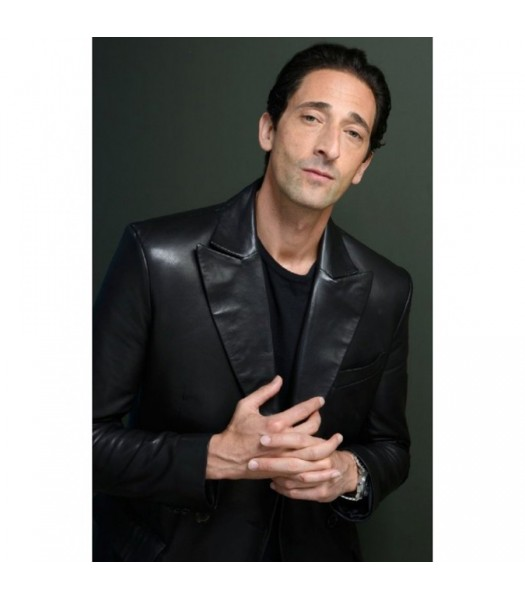 Adrien Brody The Third Sean Leather Jacket