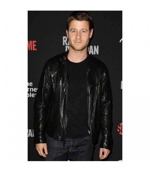Ben Mckenzie Black Leather Jacket
