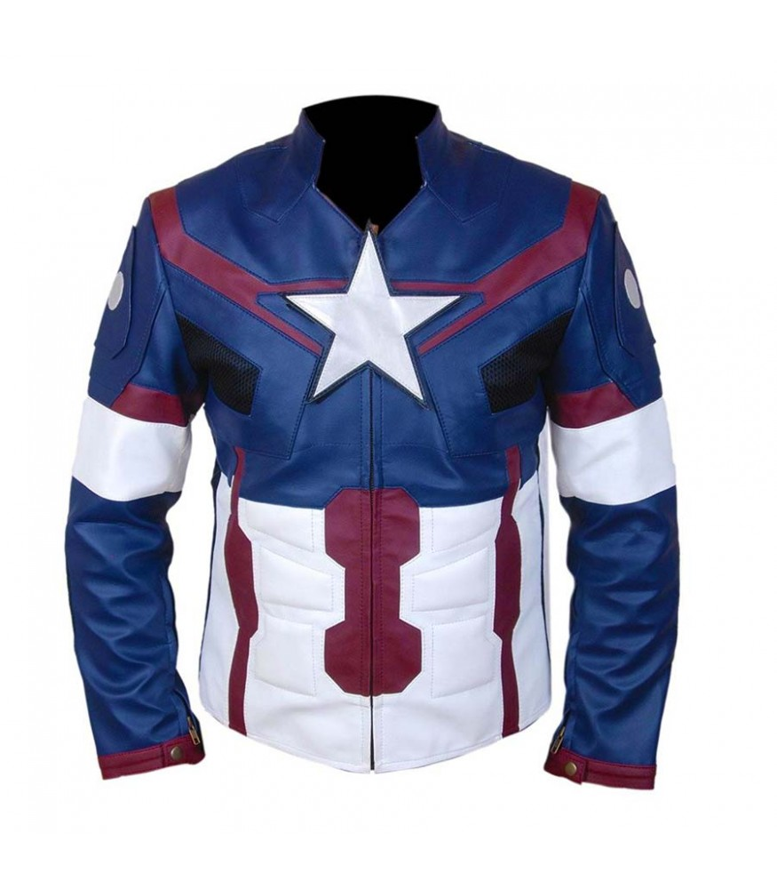 Captain America First Avenger Chris Evans Costume Jacket