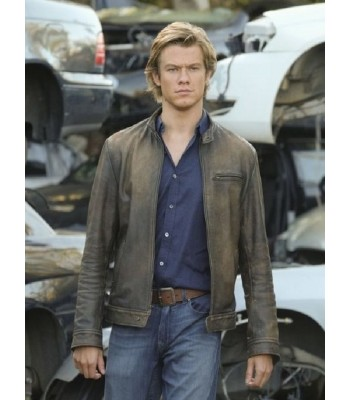 LUCAS TILL ANGUS MACGYVER DISTRESSED JACKET