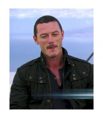 Fast and Furious 6 Luke Evans Owen Shaw Black Jacket