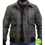 A-Team Howling Mad Murdock Distressed Jacket