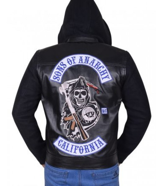 Sons Of Anarchy Jackson Teller Hoodie Jacket