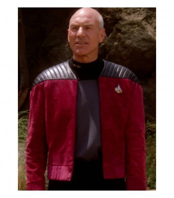 STAR TREK CAPTAIN PICARD (PATRICK STEWART) JACKET