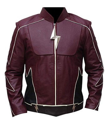 THE FLASH HENRY ALLEN LEATHER JACKET
