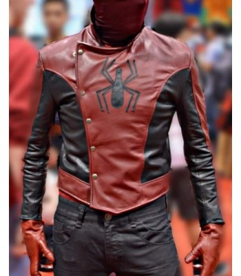 SPIDER MAN LAST STAND PETER PARKER LEATHER COSTUME JACKET