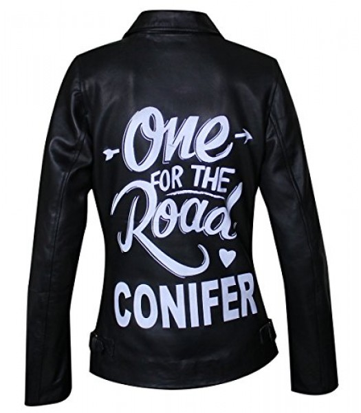 Arctic Monkeys One For The Road Conifer Balck Leather Jacket