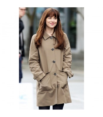 Fifty Shades Anastasia Steele Darker Trench Coat