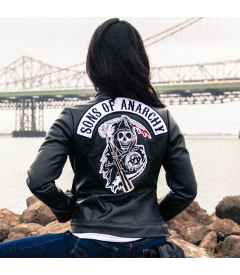 GEMMA TELLER SONS OF ANARCHY LEATHER JACKET
