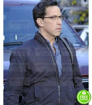 24 LEGACY DAN BUCATINSKY (ANDY SHALOWITZ) BLUE COTTON JACKET