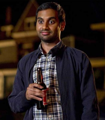 30 MINUTES OR LESS AZIZ ANSARI (CHET) BLACK JACKET