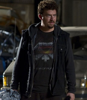 30 MINUTES OR LESS DANNY MCBRIDE (DWAYNE) BLACK JACKET