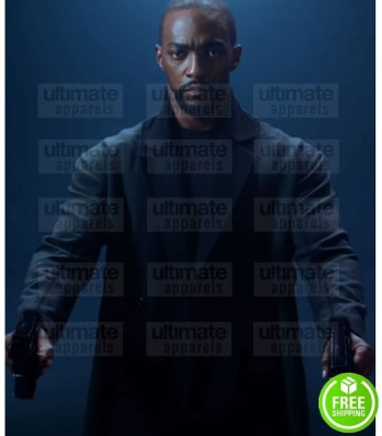 ALTERED CARBON SEASON 2 ANTHONY MACKIE (TAKESHI KOVACS) BLACK COAT