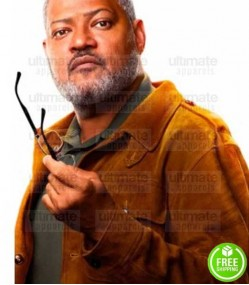 ANT-MAN AND THE WASP LAWRENCE FISHBURNE (DR. BILL FOSTER) SUEDE LEATHER JACKET