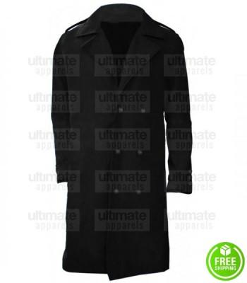 AVENGERS INFINITY WAR CHADWICK BOSEMAN (BLACK PANTHER) BLACK COAT