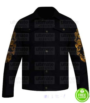 BAD BOYS FOR LIFE WILL SMITH (MIKE LOWREY) BLACK COTTON JACKET